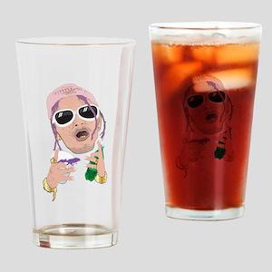 Lean Rapper Drinking Glass