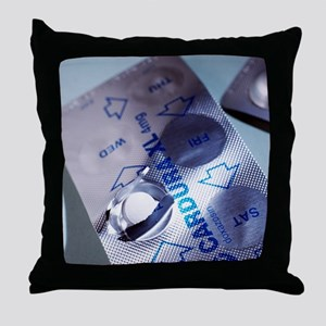 Hypertension tablets Throw Pillow