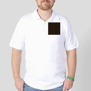 Dark Brown Golf Shirt