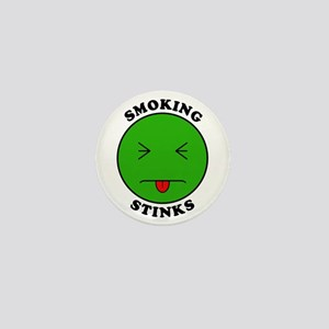 Smoking Stinks Mini Button