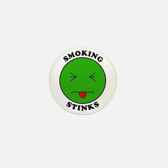 Smoking Stinks Mini Button