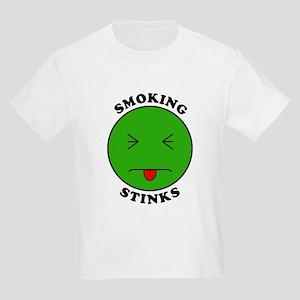 Smoking Stinks Kids T-Shirt