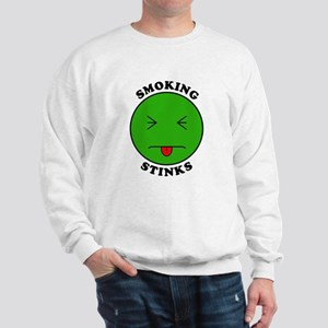 Smoking Stinks Sweatshirt