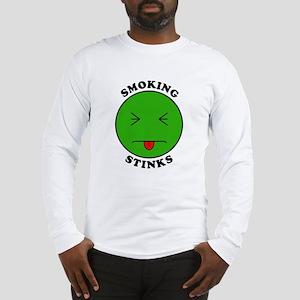Smoking Stinks Long Sleeve T-Shirt