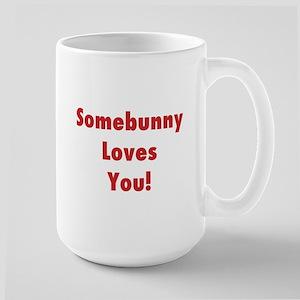 Bunny Mug, Large: Somebunny Loves You!