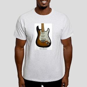 """""""Hot Wax"""" Guitar Light T-Shirt"""