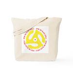 Spin The Black Circle Tote Bag