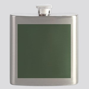 Dark Green Flask