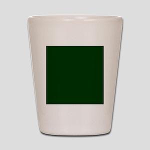 Dark Green Shot Glass