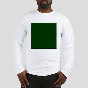 Dark Green Long Sleeve T-Shirt