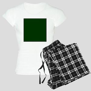 Dark Green Women's Light Pajamas