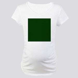 Dark Green Maternity T-Shirt