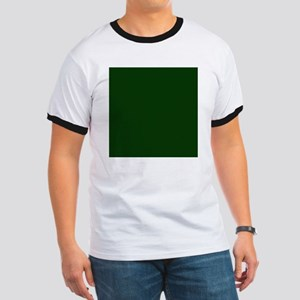 Dark Green Ringer T