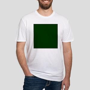 Dark Green Fitted T-Shirt