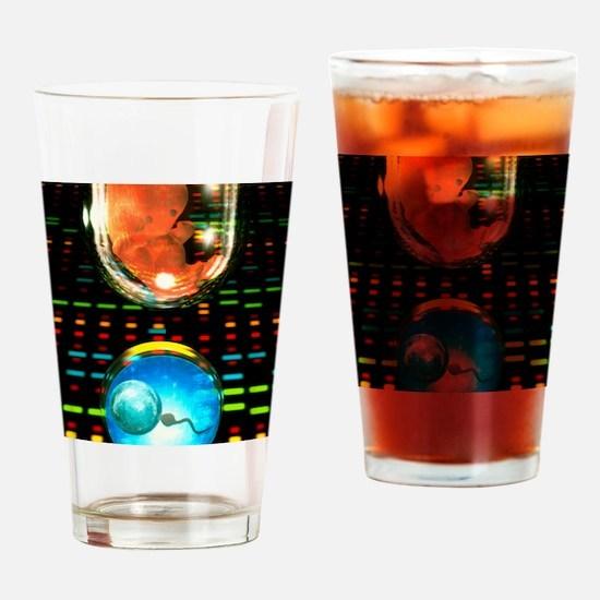 In vitro fertilization Drinking Glass