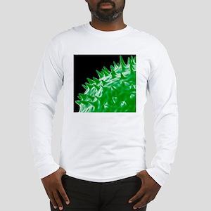Influenza virus protein spikes Long Sleeve T-Shirt