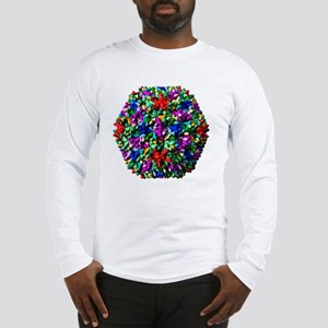 Infectious bursal disease viru Long Sleeve T-Shirt