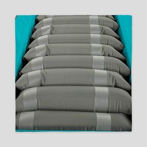 Inflated hospital air mattress Queen Duvet