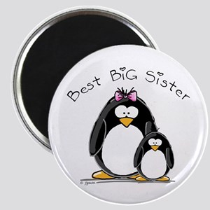 Best Big Sister penguins Magnet