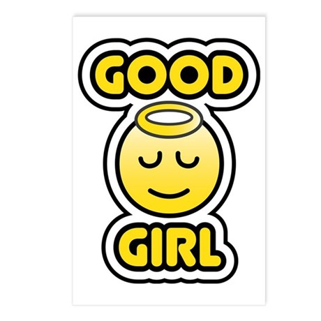 Good Girl Bbm Smiley Postcards Package Of 8 By Admincp72432831