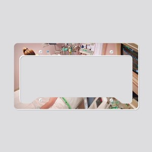 Intensive care patient License Plate Holder