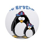 Big Brother Penguin Ornament (Round)
