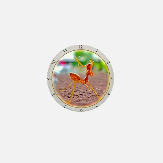 Red Ant Heads Up Mini Button
