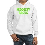 Modesty Rocks Hooded Sweatshirt