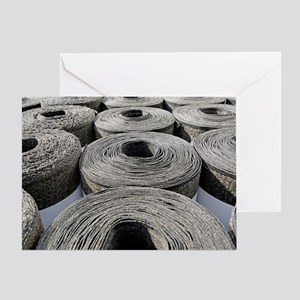 Insulation material Greeting Card