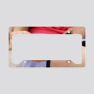 Insulin injection License Plate Holder