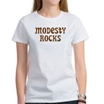 Modesty Rocks Women's T-Shirt