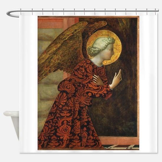 Angel of the Annunciation - Masolino da Panicale S