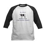 Cows Kids Baseball Jersey