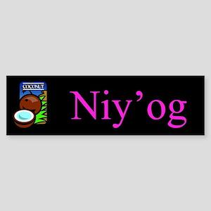 Niy'og (Coconut) Gifts Bumper Sticker
