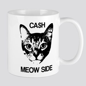 CASH MEOW SIDE Mugs