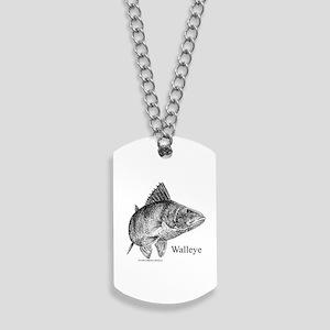 Walleye Dog Tags