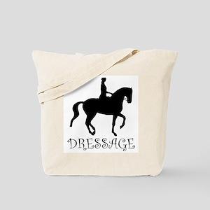dressage silhouette  Tote Bag