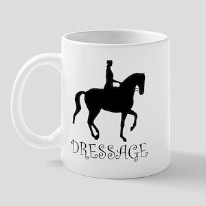 dressage silhouette Mug