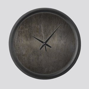 Concrete Large Wall Clock