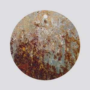 Rust Round Ornament