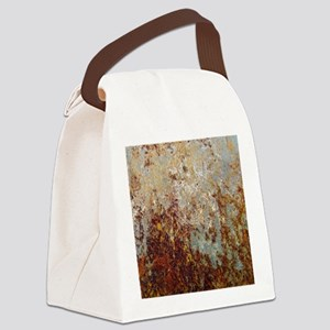 Rust Canvas Lunch Bag