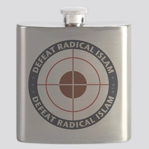 Defeat Radical Islam Flask