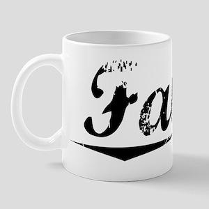 Faber, Vintage Mug