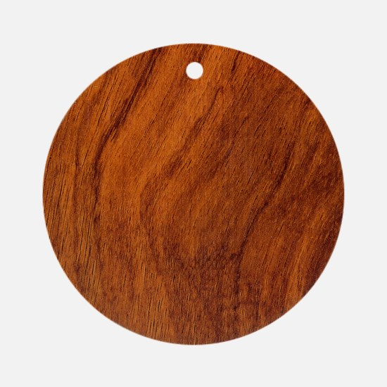 Redwood Round Ornament