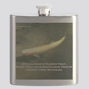 2013 Calendar of Rainbow Trout, Brown Trout  Flask