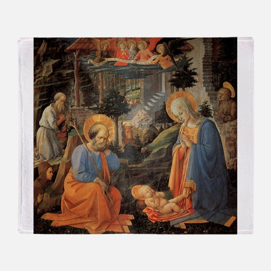 Adoration of Annalena - Lippi Throw Blanket