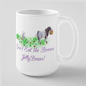 Boer-GOAT-Brown JellyBeans Large Mug