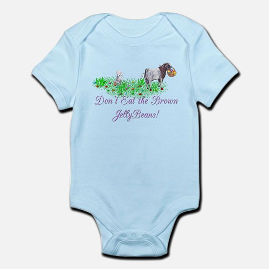 Boer-GOAT-Brown JellyBeans Infant Bodysuit