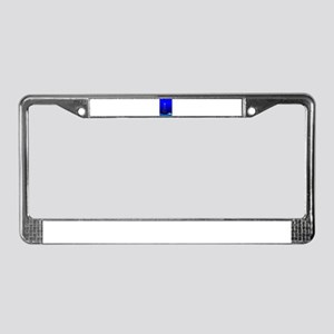 Invisible Christmas Tree 3 License Plate Frame