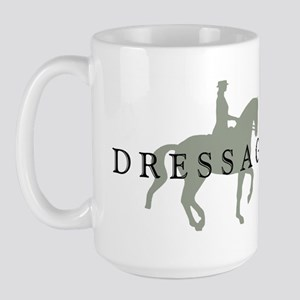 Piaffe w/ Dressage Text Large Mug